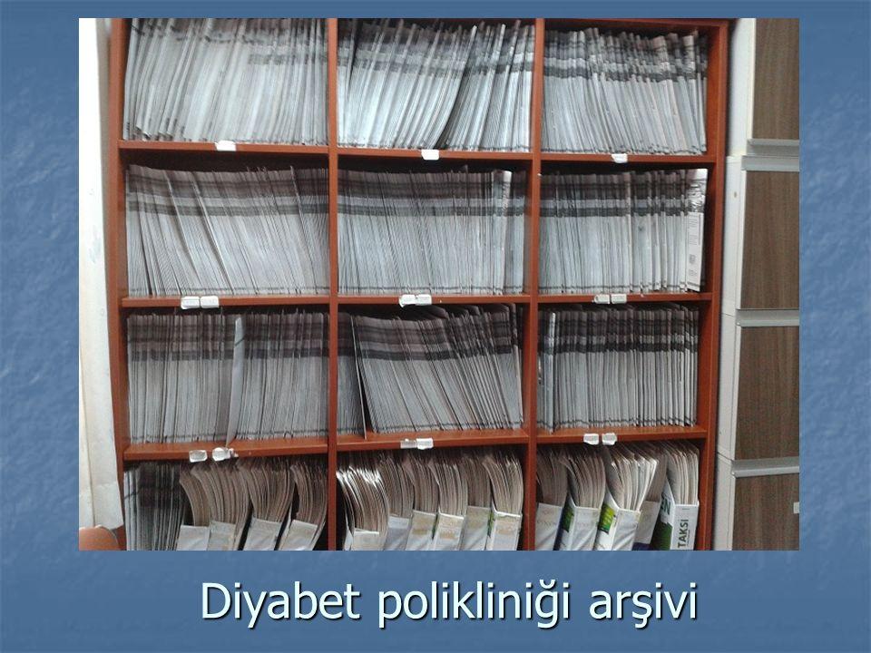 Diyabet polikliniği arşivi