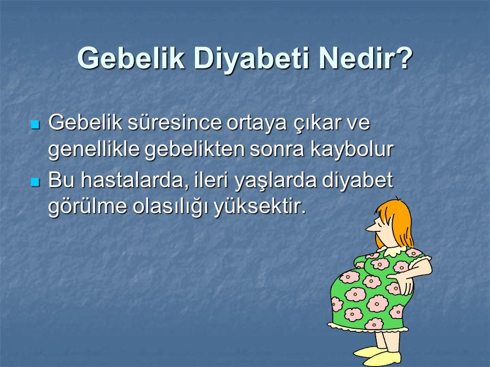 Gebelik Diyabeti Nedir