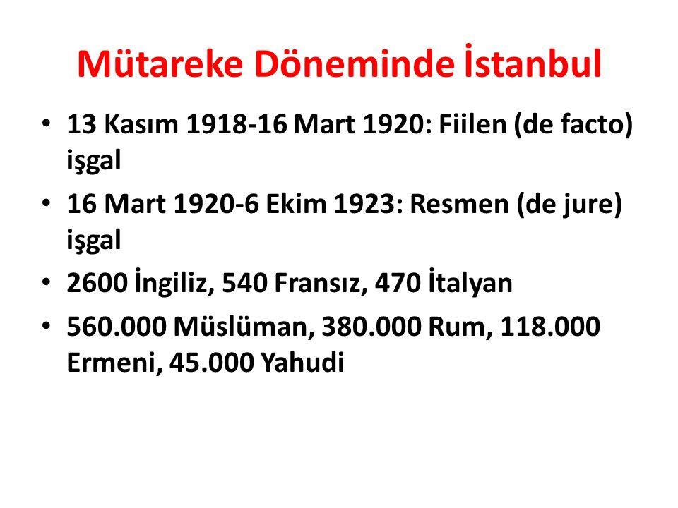 Mütareke Döneminde İstanbul