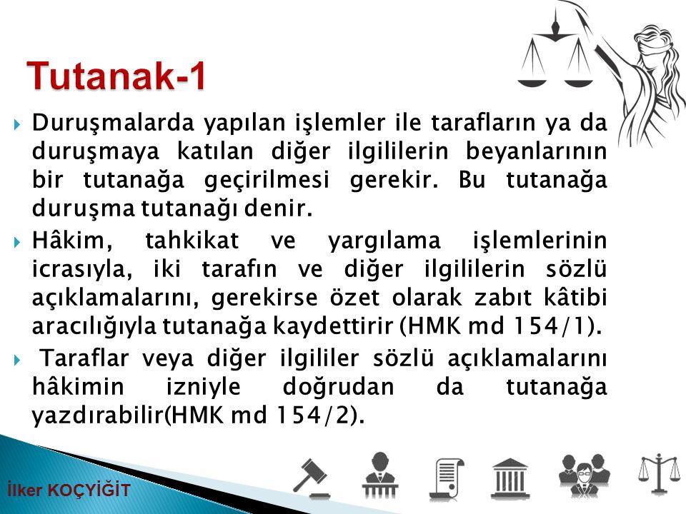 Tutanak-1