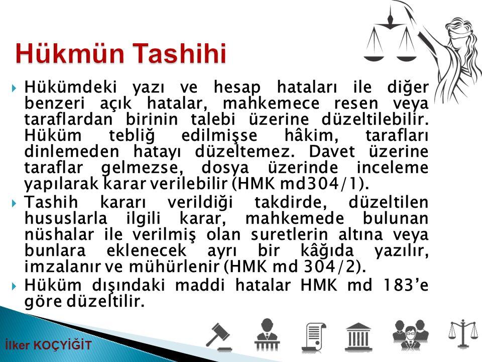 Hükmün Tashihi