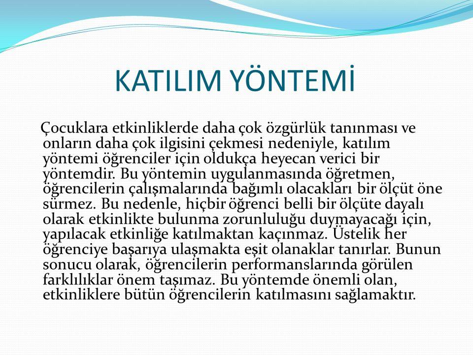 KATILIM YÖNTEMİ
