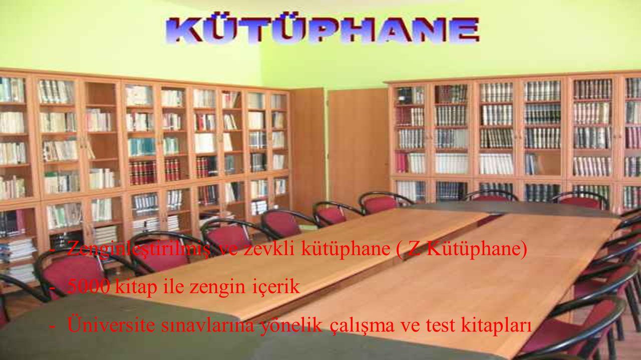 Zenginleştirilmiş ve zevkli kütüphane ( Z Kütüphane)