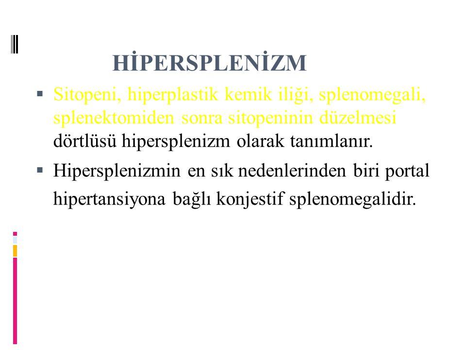 HİPERSPLENİZM