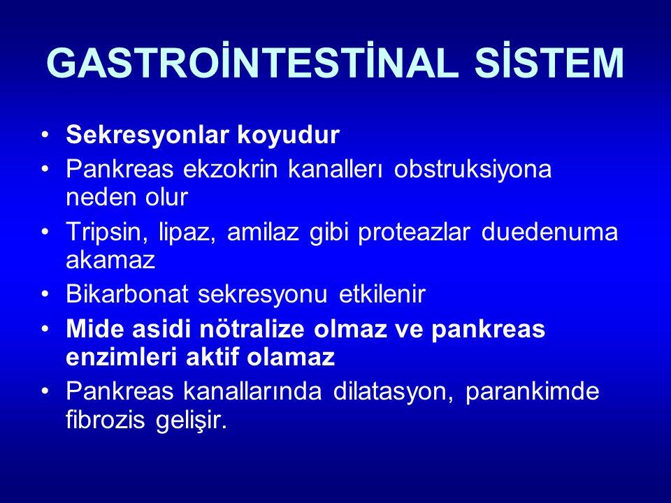 GASTROİNTESTİNAL SİSTEM