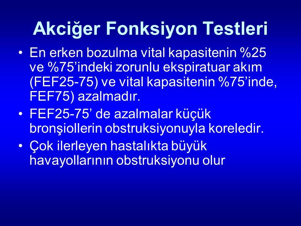 Akciğer Fonksiyon Testleri