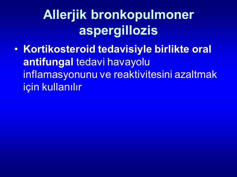 Allerjik bronkopulmoner aspergillozis