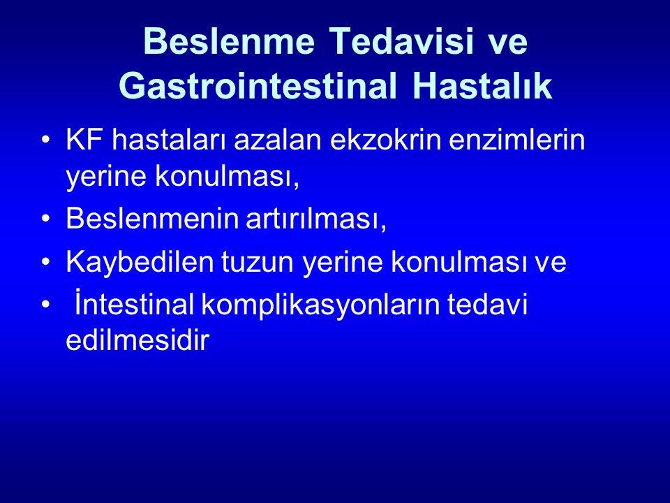 Beslenme Tedavisi ve Gastrointestinal Hastalık