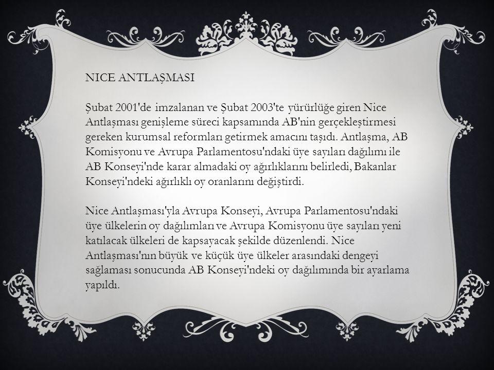 NICE ANTLAŞMASI