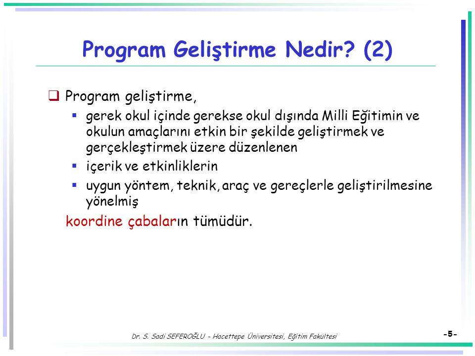 Program Geliştirme Nedir (2)