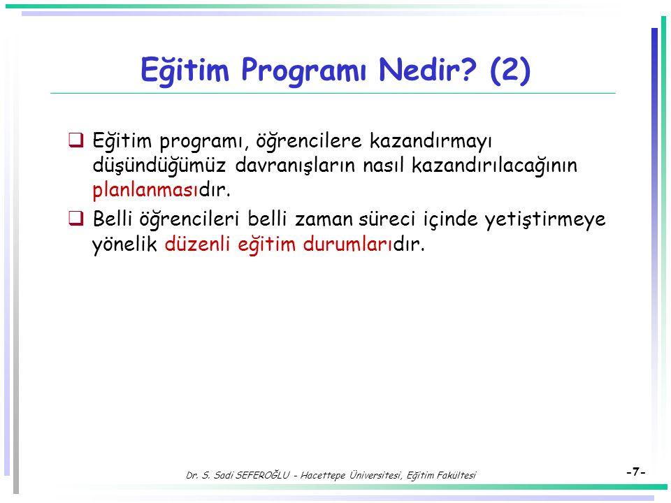 Eğitim Programı Nedir (2)