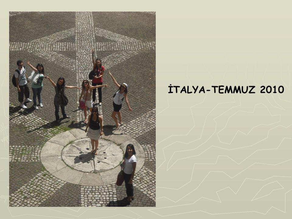 İTALYA-TEMMUZ 2010