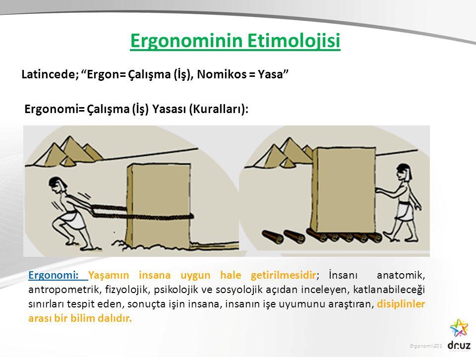 Ergonominin Etimolojisi