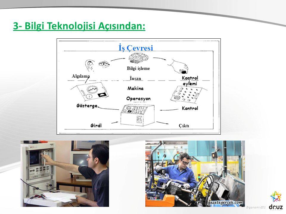 3- Bilgi Teknolojisi Açısından: