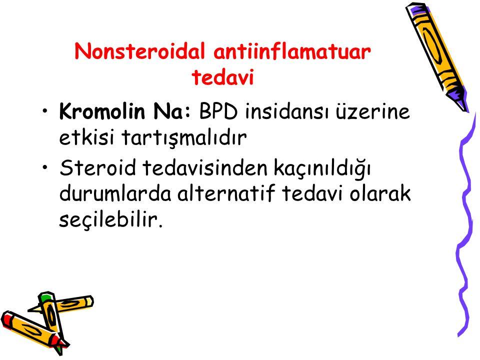 Nonsteroidal antiinflamatuar tedavi
