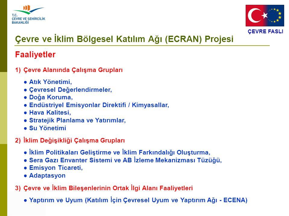 Çevre ve İklim Bölgesel Katılım Ağı (ECRAN) Projesi