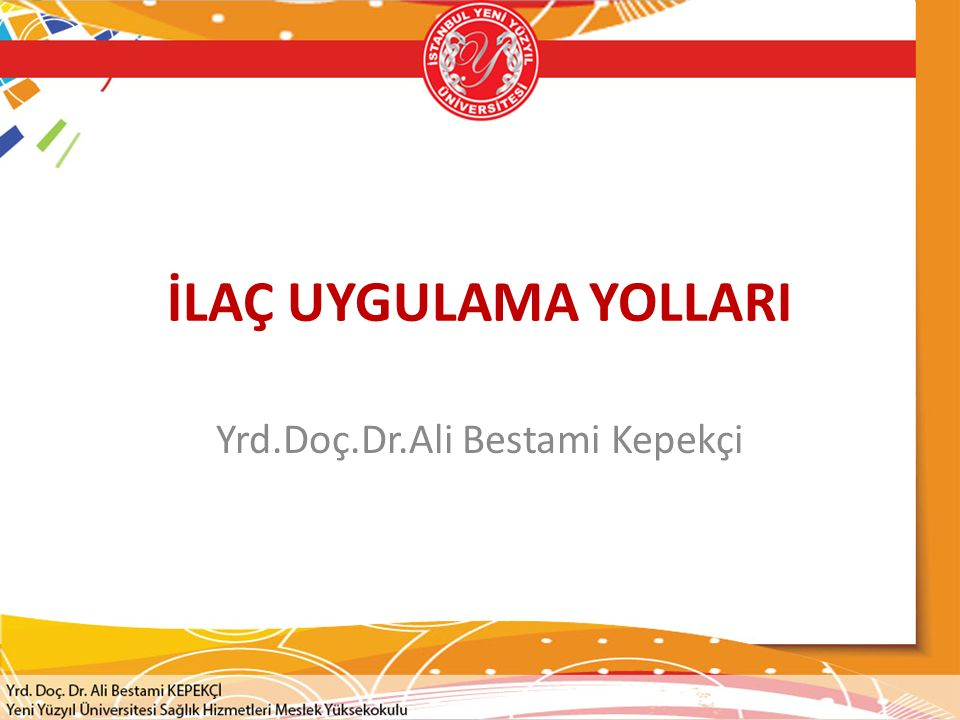 Yrd.Doç.Dr.Ali Bestami Kepekçi