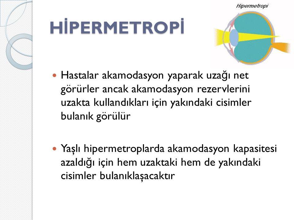 HİPERMETROPİ