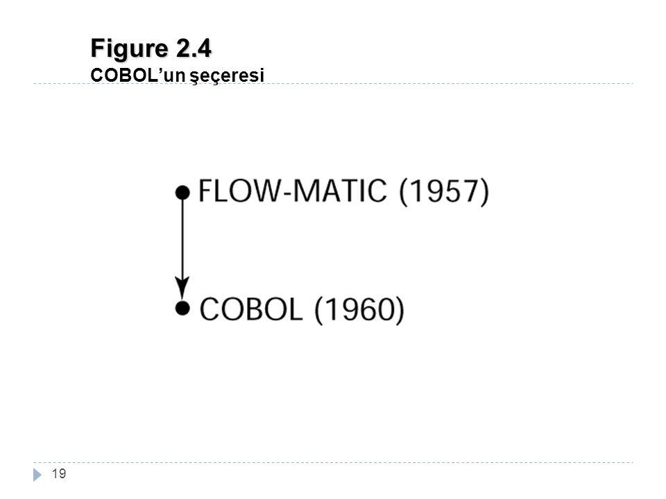 Figure 2.4 COBOL'un şeçeresi