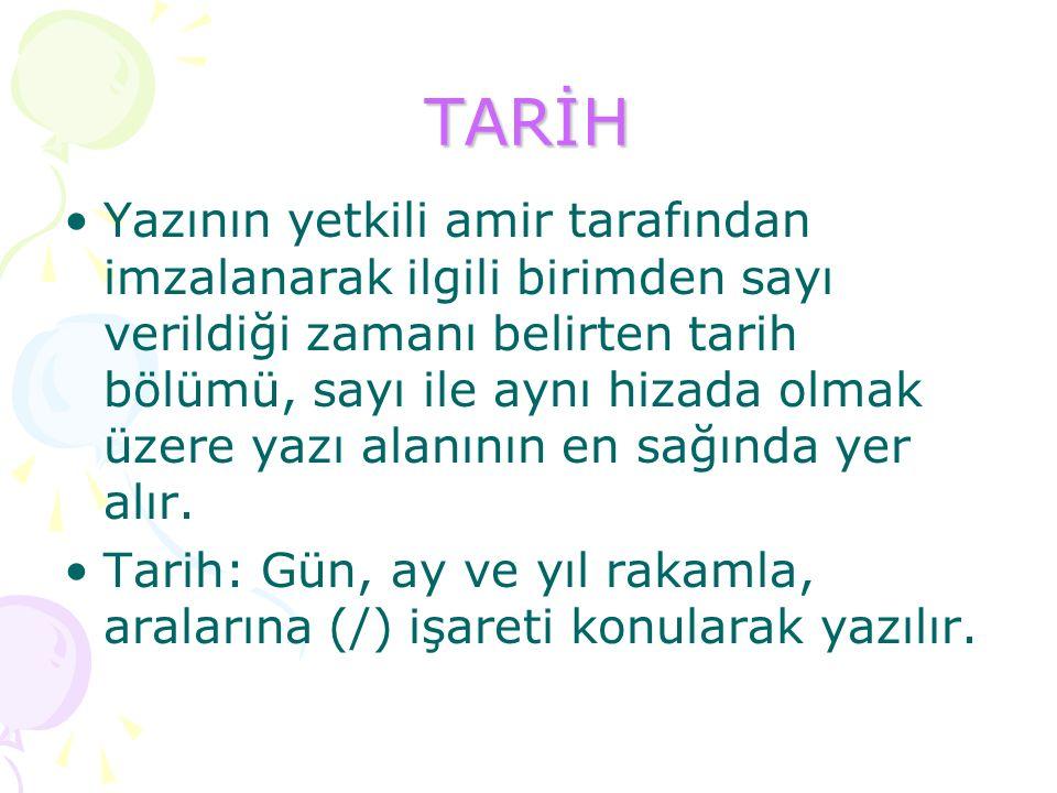 TARİH