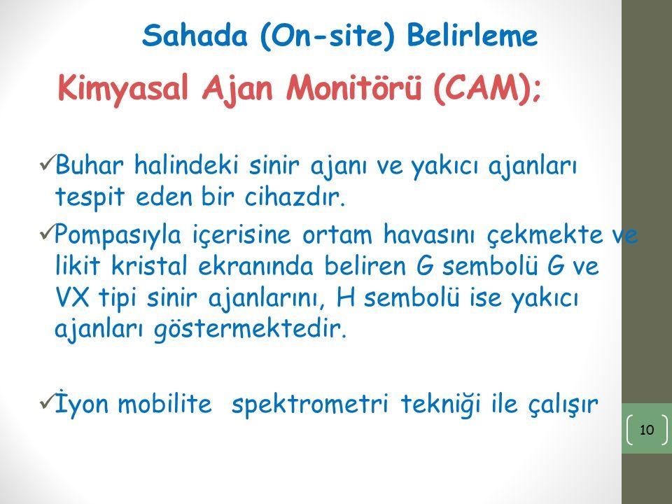 Kimyasal Ajan Monitörü (CAM);