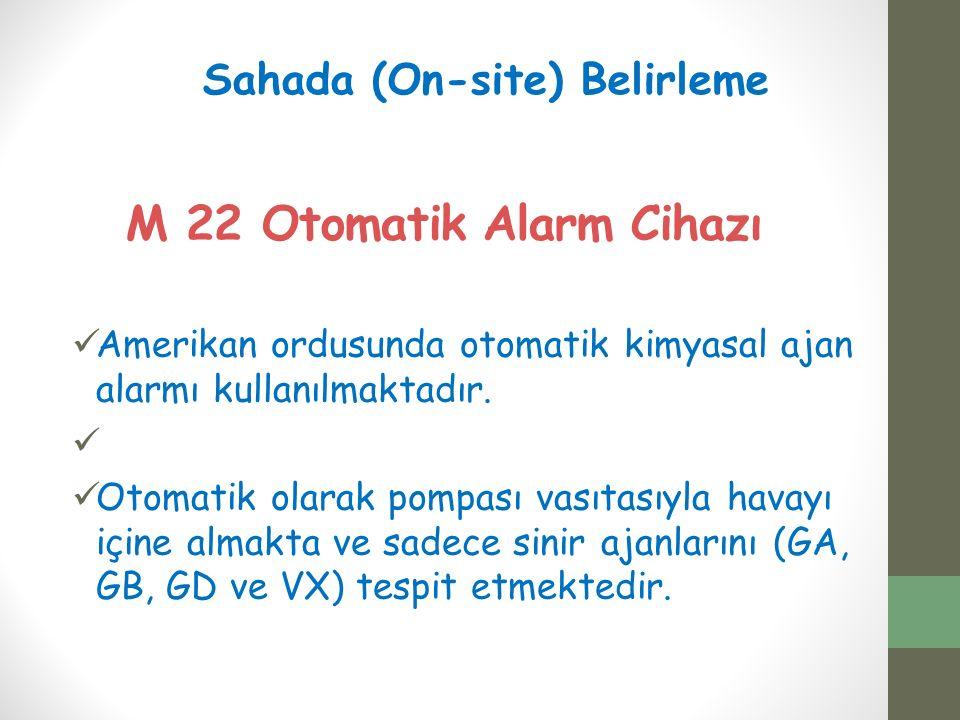 M 22 Otomatik Alarm Cihazı