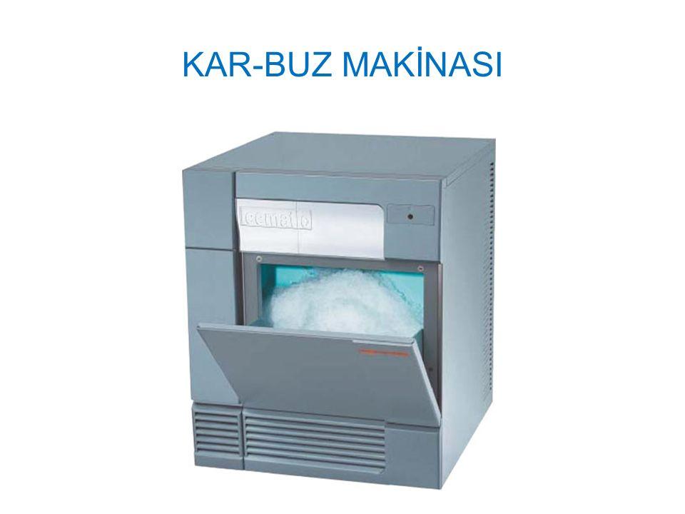 KAR-BUZ MAKİNASI