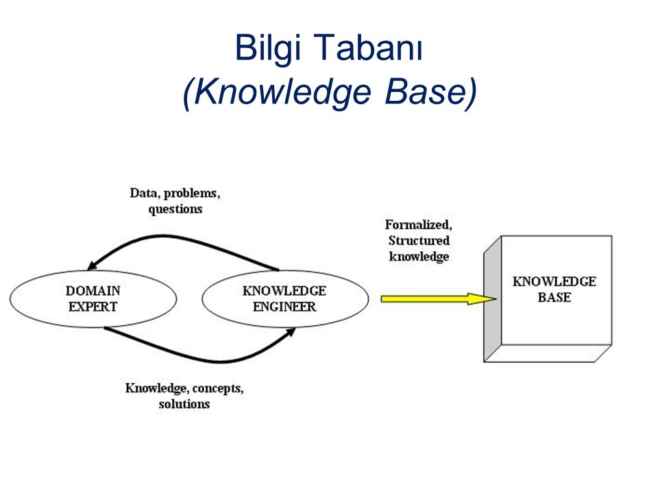 Bilgi Tabanı (Knowledge Base)