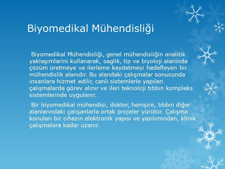 Biyomedikal Mühendisliği