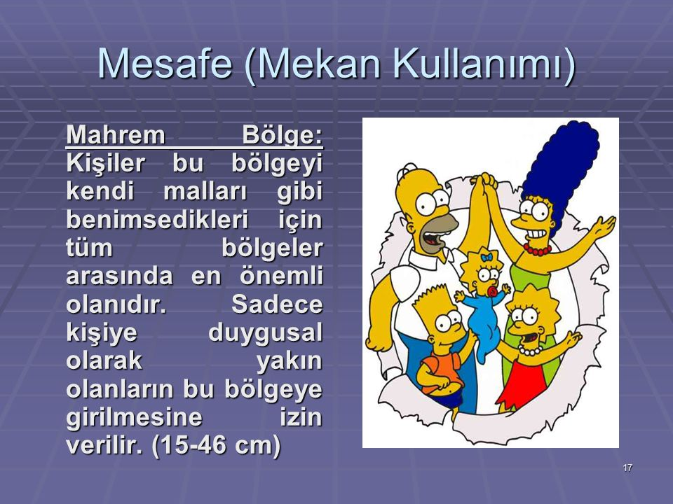 Mesafe (Mekan Kullanımı)
