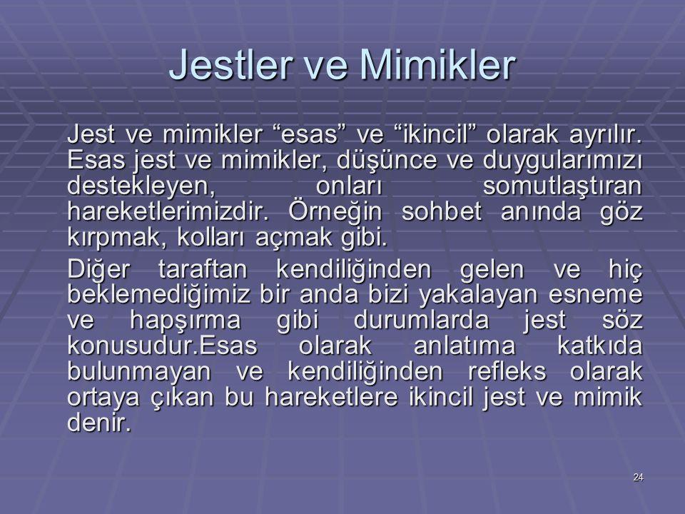 Jestler ve Mimikler