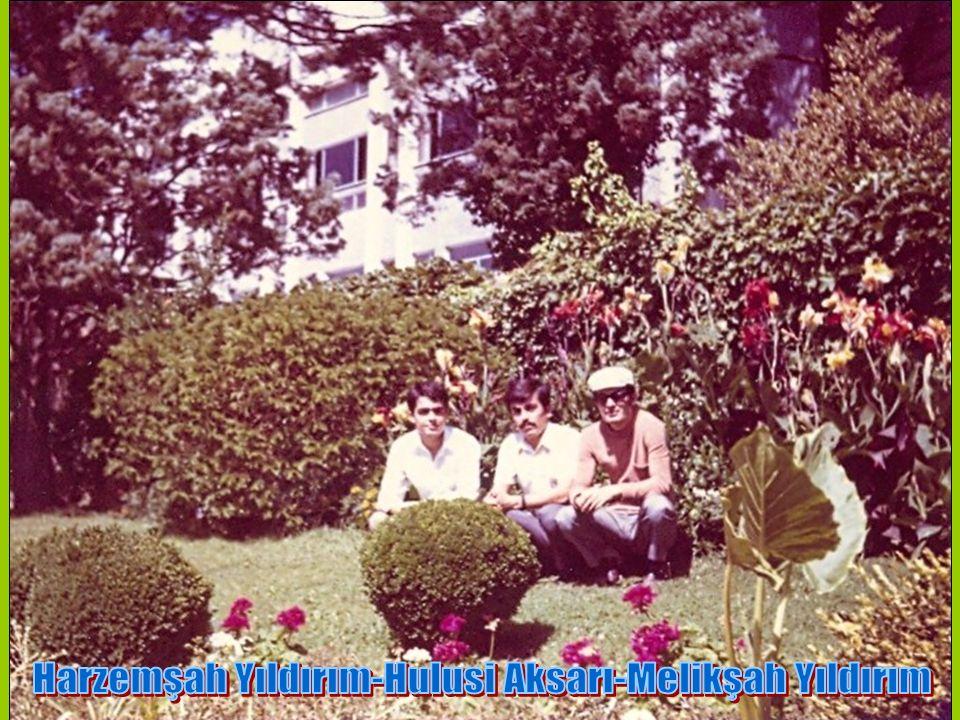 Harzemşah Yıldırım-Hulusi Aksarı-Melikşah Yıldırım