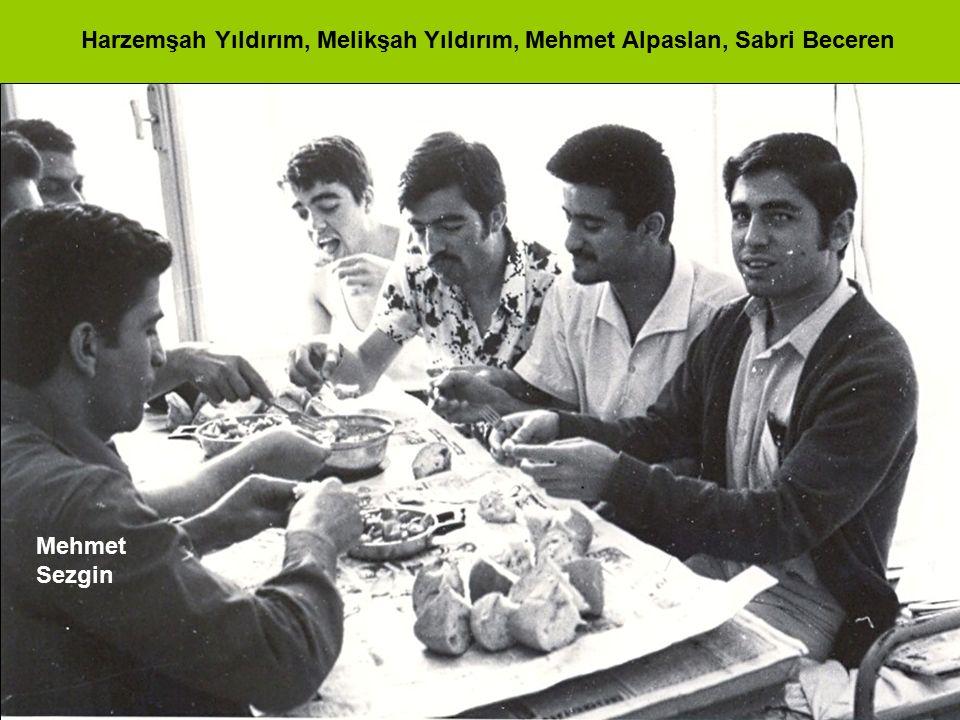 Harzemşah Yıldırım, Melikşah Yıldırım, Mehmet Alpaslan, Sabri Beceren