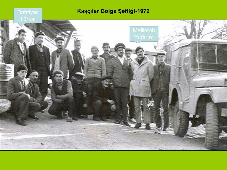 Kaşçılar Bölge Şefliği-1972
