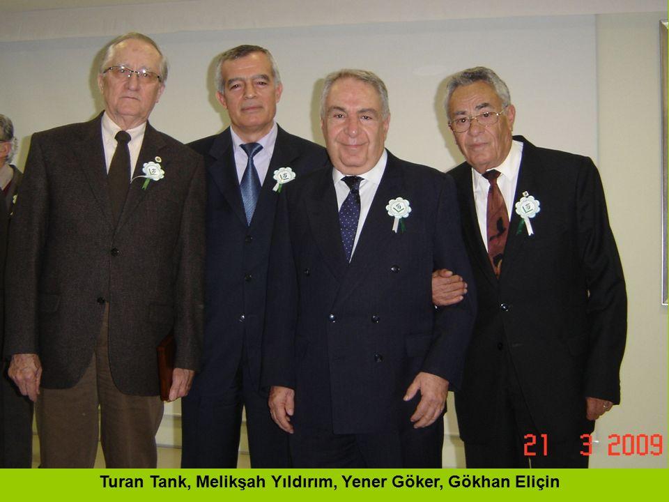 Turan Tank, Melikşah Yıldırım, Yener Göker, Gökhan Eliçin