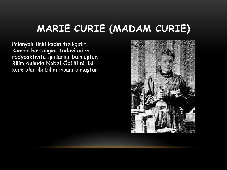 Marie Curie (Madam Curie)