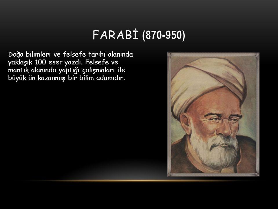 FARABİ (870-950)