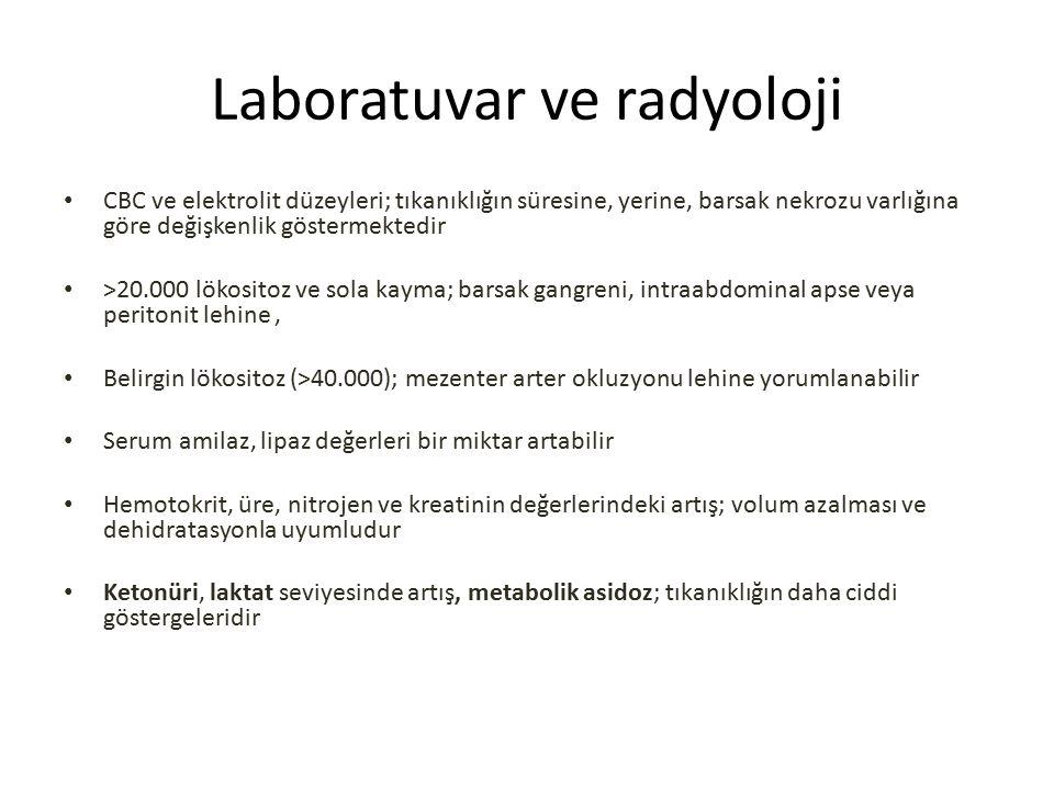 Laboratuvar ve radyoloji