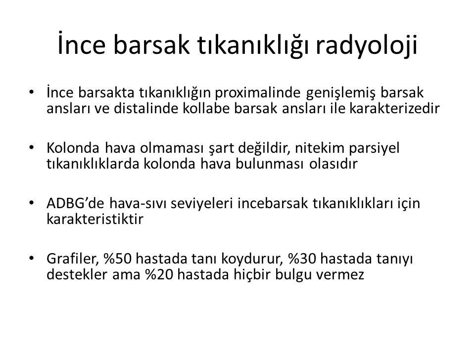 İnce barsak tıkanıklığı radyoloji