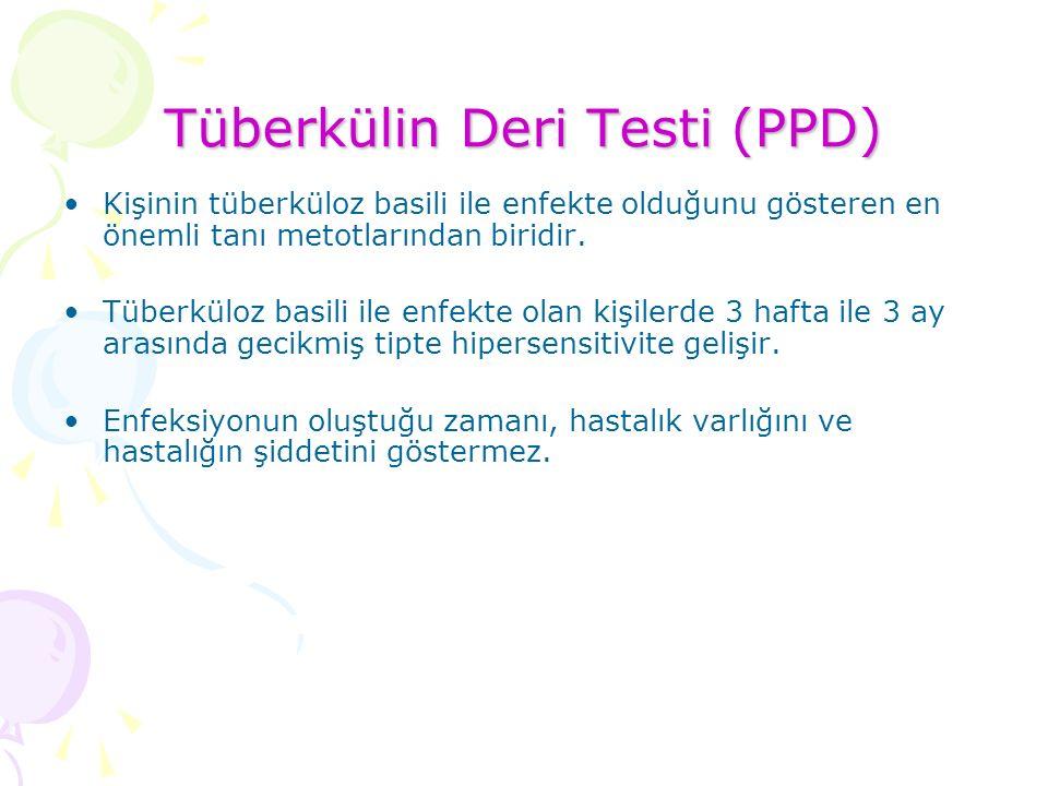 Tüberkülin Deri Testi (PPD)