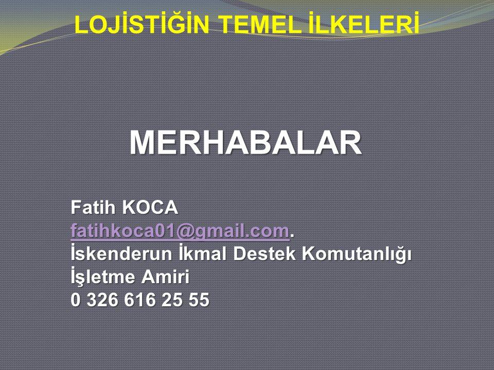 MERHABALAR Fatih KOCA fatihkoca01@gmail.com.