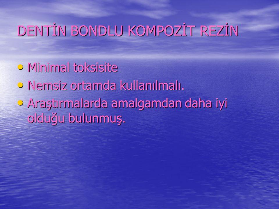 DENTİN BONDLU KOMPOZİT REZİN