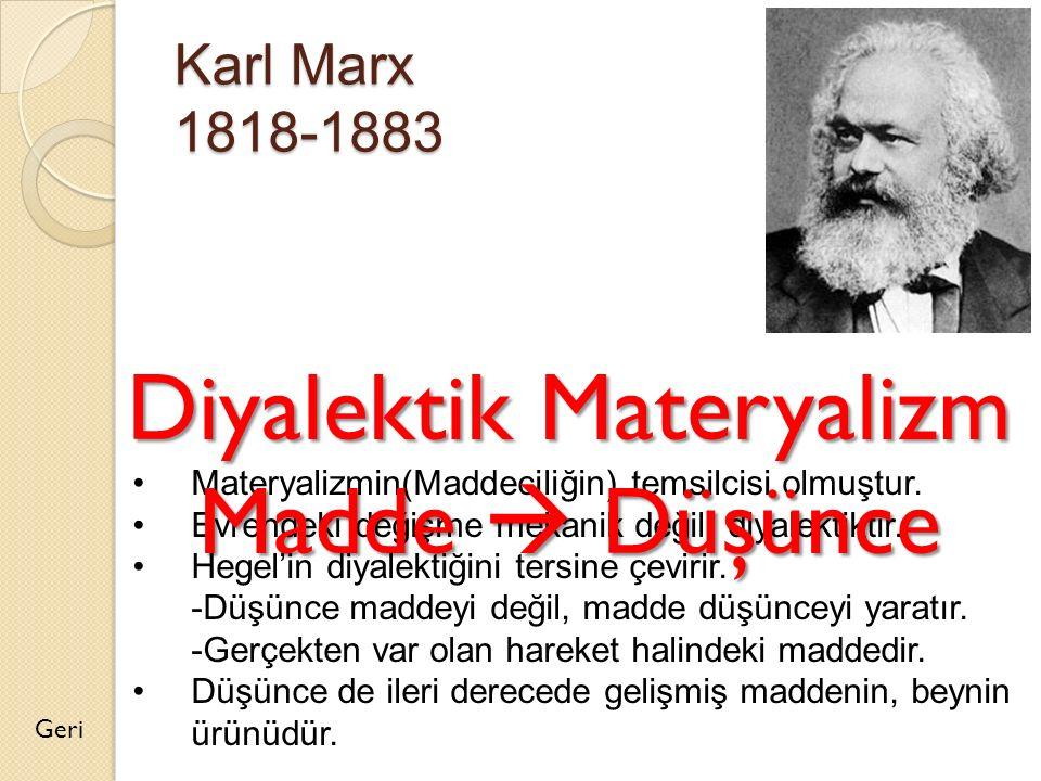 Diyalektik Materyalizm