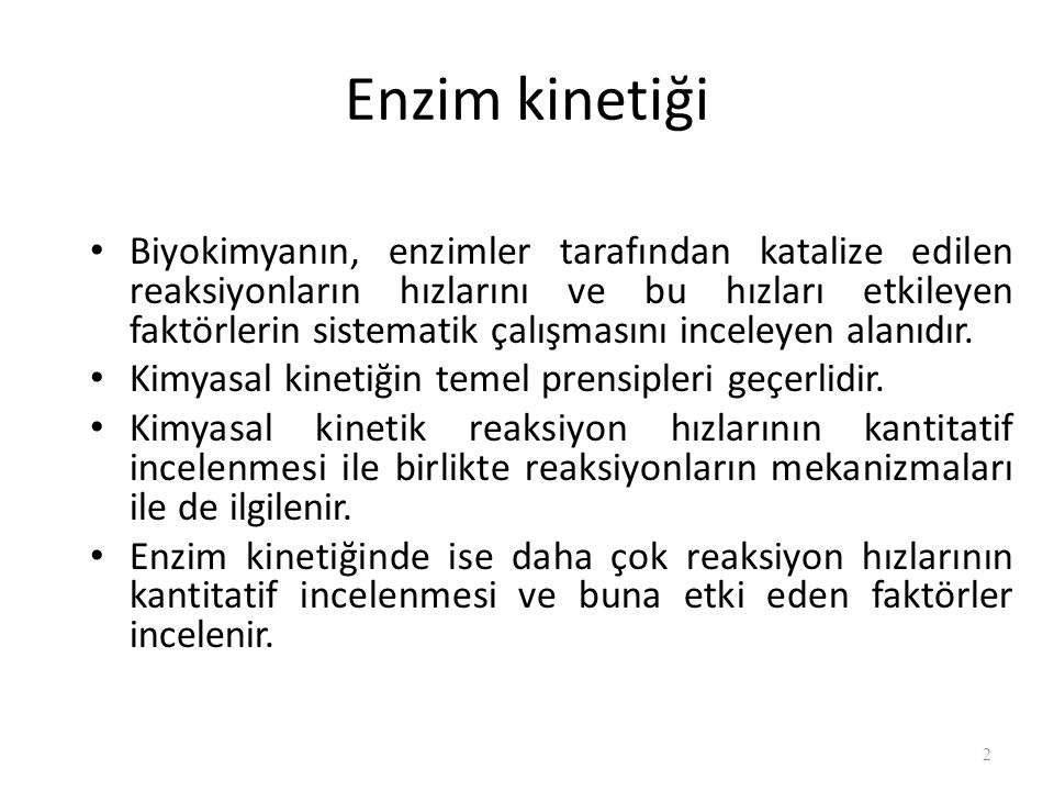 Enzim kinetiği