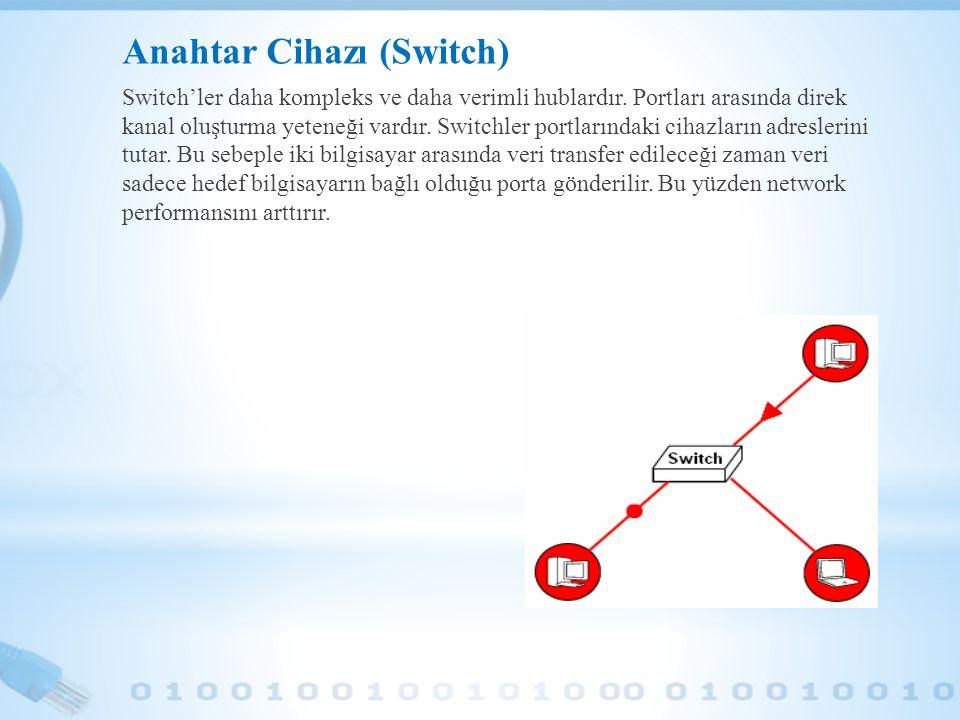 Anahtar Cihazı (Switch)