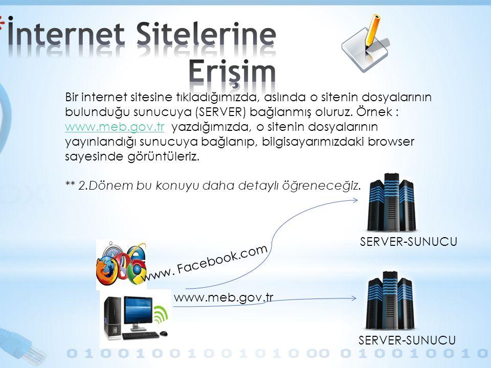 İnternet Sitelerine Erişim