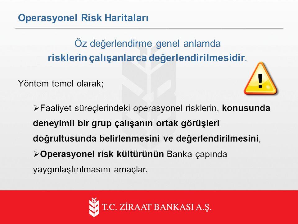 Operasyonel Risk Haritaları