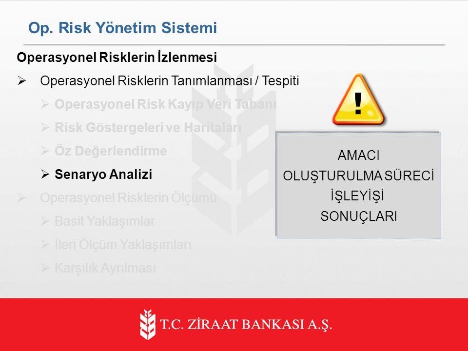 Op. Risk Yönetim Sistemi