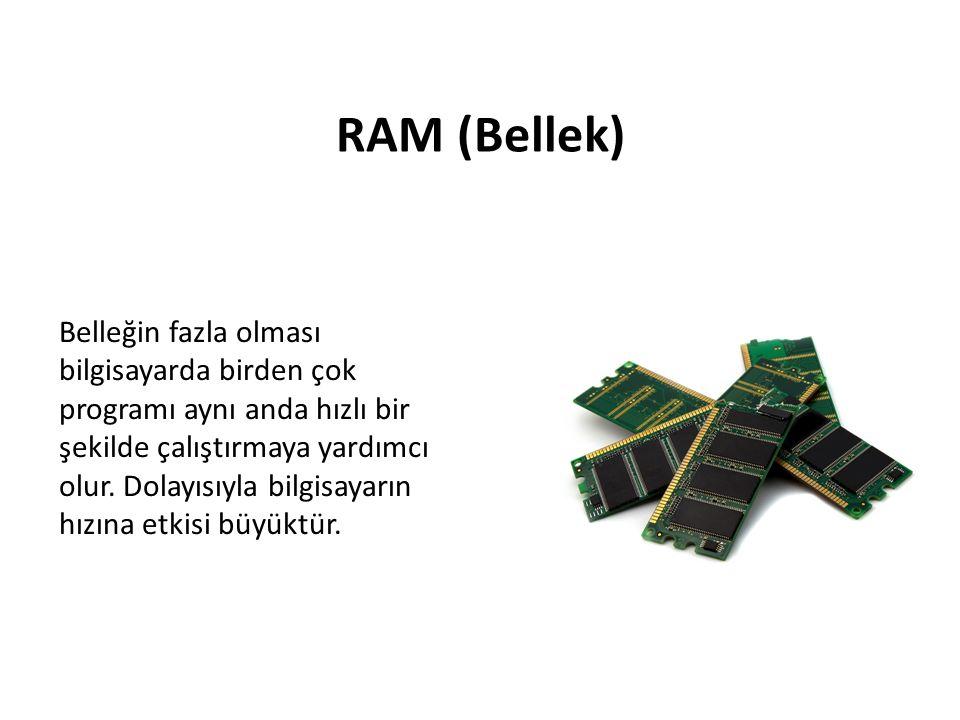 RAM (Bellek)