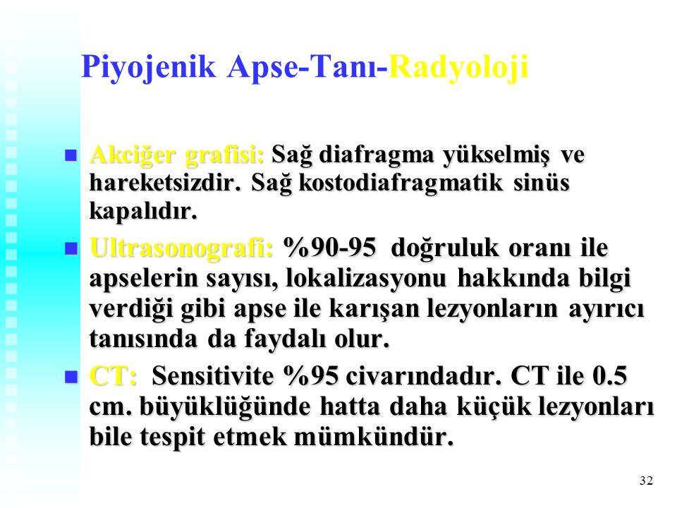 Piyojenik Apse-Tanı-Radyoloji